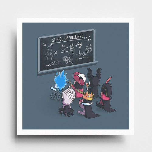 School of Villains - Art Print - Naolito