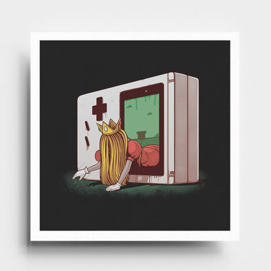 The Pipe - Art Print - Naolito