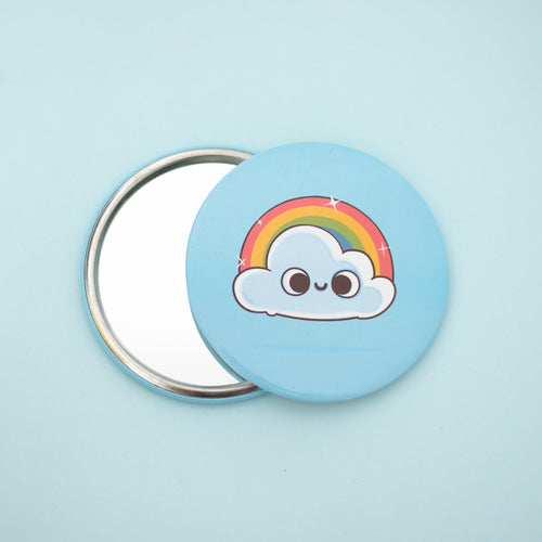 After Make Up Rainbow - Pocket Mirror - Naolito