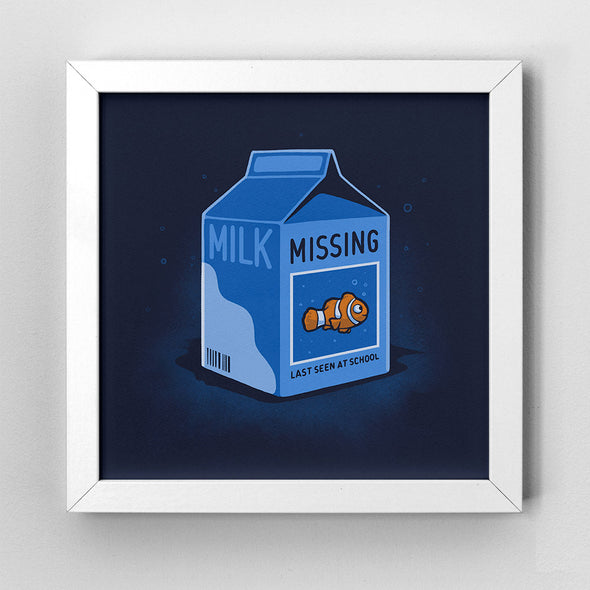 Missing Fish - Art Print - Naolito