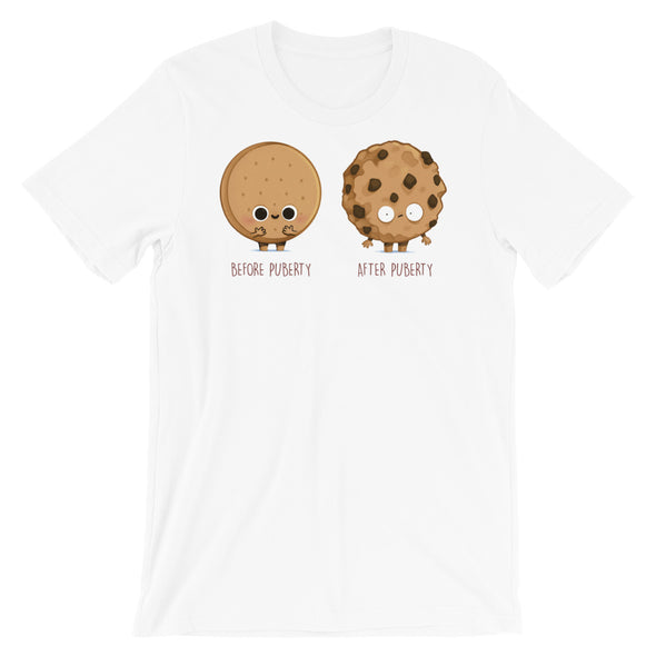 Before After Puberty - Short Sleeve Unisex T-Shirt
