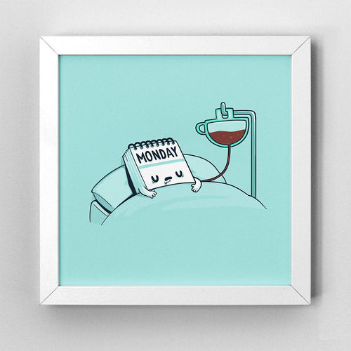 Monday Coffee - Art Print