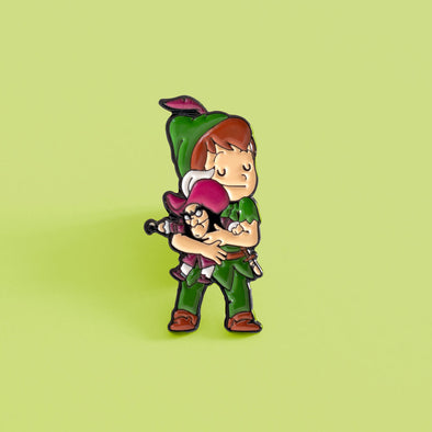 Peter Pan - Enamel Pin - Naolito