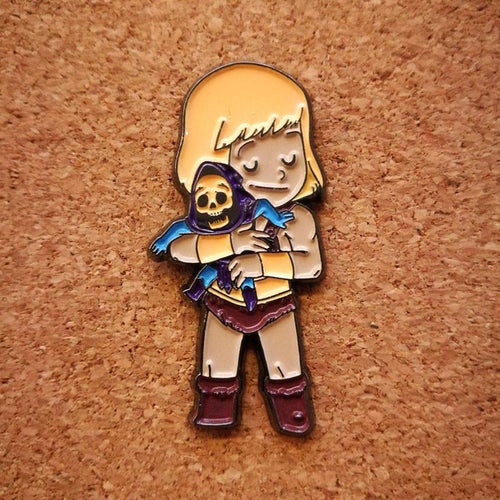 He-Man Enamel Pin