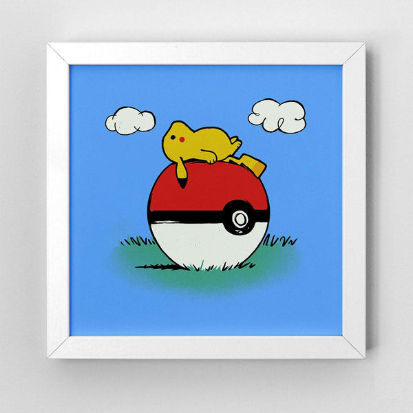 PokeHouse - Art Print