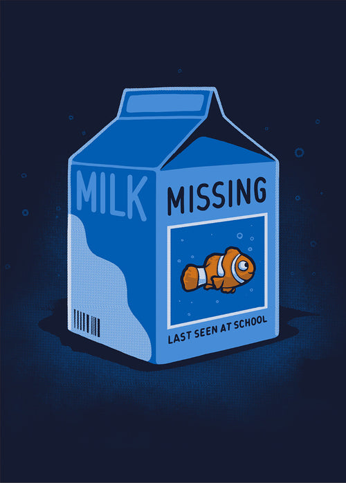Missing Fish - Poster - Naolito