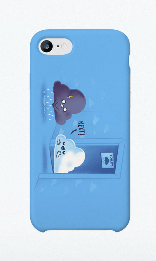 Rainy Queue - Phone Case - Naolito
