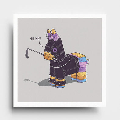 Hit Me - Art Print - Naolito