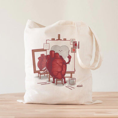 Self Portrait Premium - Tote Bag - Naolito
