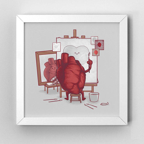 Self Portrait - Art Print - Naolito