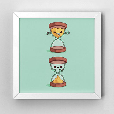 Shitty Time - Art Print - Naolito