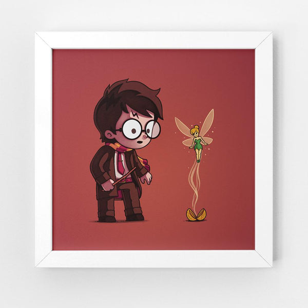 Snitch Wings - Art Print
