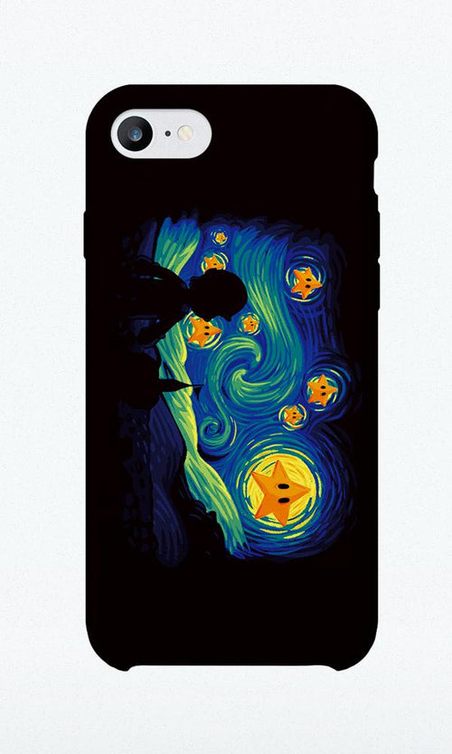 Super Starry Night - Phone Case - Naolito