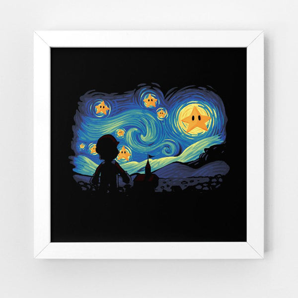 Super Starry Night - Art Print - Naolito