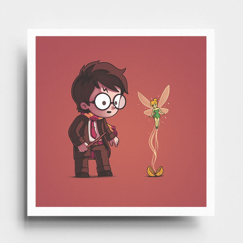 Snitch Wings - Art Print - Naolito