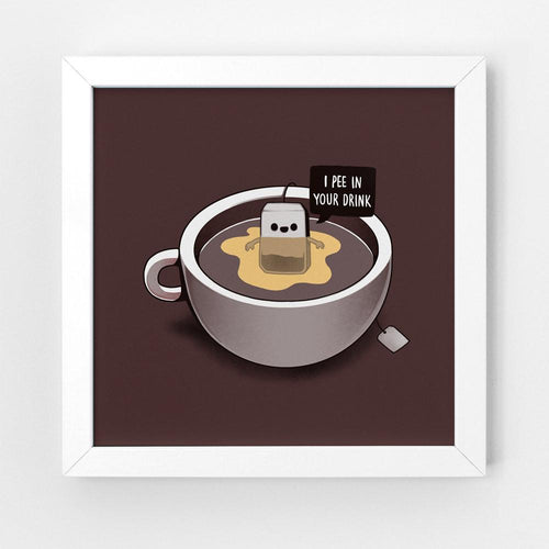 Tea Pee - Art Print