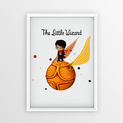 The Little Wizard - Poster - Naolito