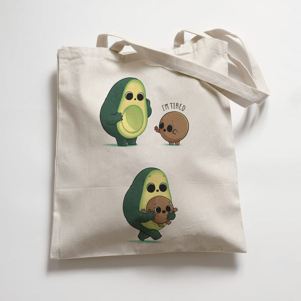 Tired Avocado Premium - Tote Bag - Naolito