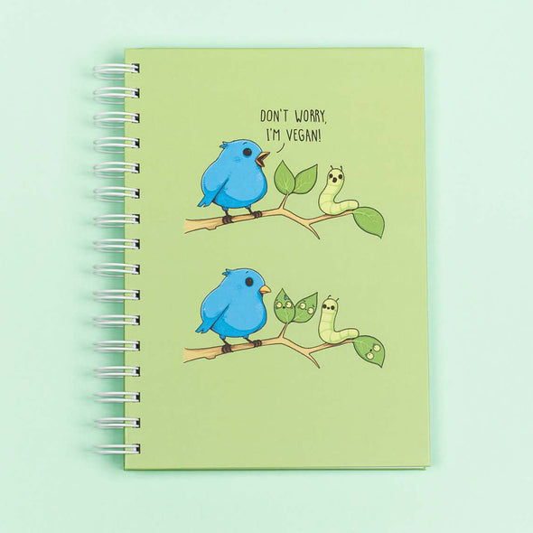 I'M VEGAN - A5 Notebook - Naolito