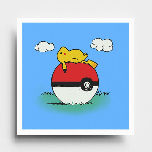 PokeHouse - Art Print - Naolito