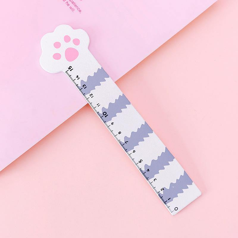 Cat Paw Wooden Ruler