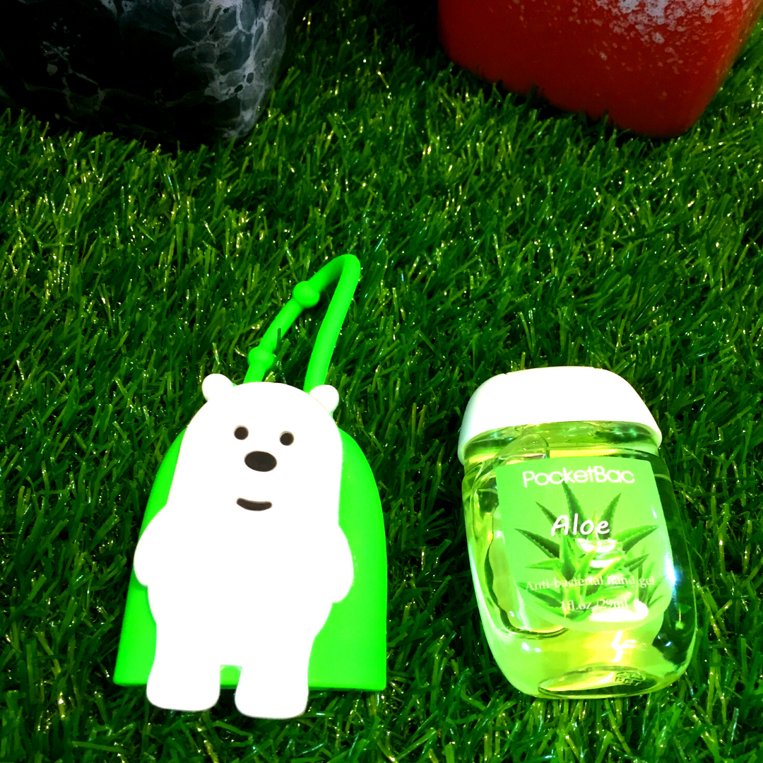 Bare Bears Pocketbac Holder