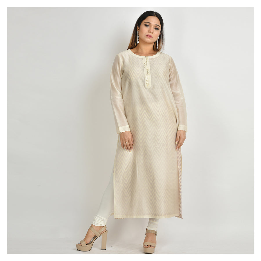 Uttkrishit - Double Layered Only Kurta