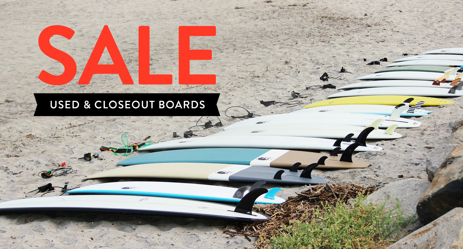 Closeout and Sale Surfboards
