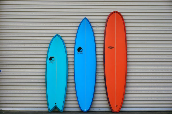 The Acid Splash Surfboard Series A New Look With An Old Trick