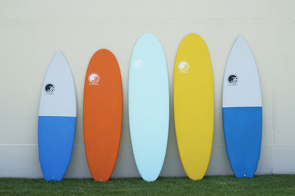 Sample Sale Surfboards