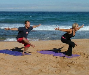 tom carrol and peggy hall yoga