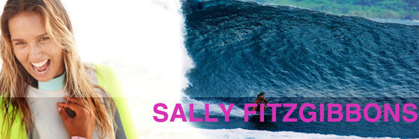 Top Female Surfers Sally Fitzgibbons