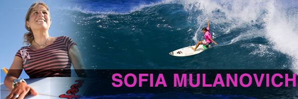 Top Female Surfers Sofia Mulanovich
