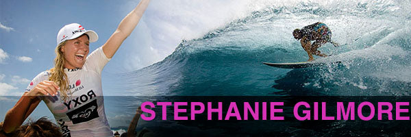Top Female Surfers - Stephanie Gilmore