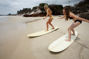 picture of learning to surf