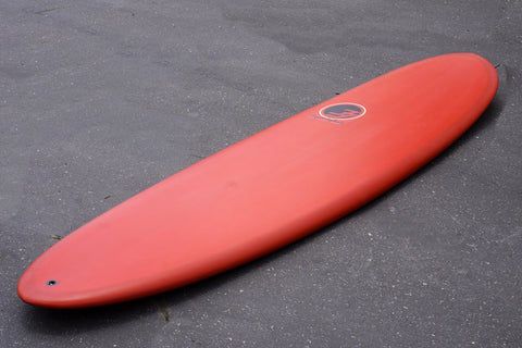 "6'6"" Poacher Surfboard with Red Resin Tint (Poly)"