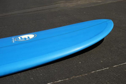 "6'6"" Poacher Surfboard Electric Blue Tint (Poly)"