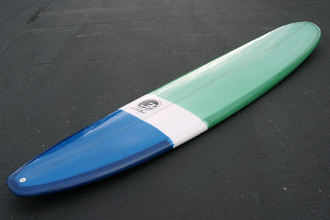 9' Fiberglass Ultimate Blue and Green Tint with Gloss