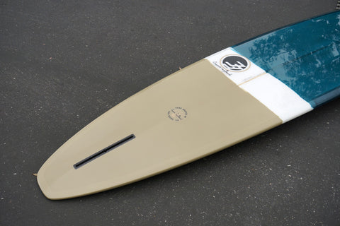 9'  Fiberglass Ultimate Sea Blue and Tan Tint Opaque with Gloss