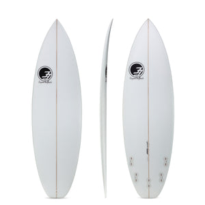 "6'0"" All Terrain Vehicle Shortboard Surfboard (Poly)"