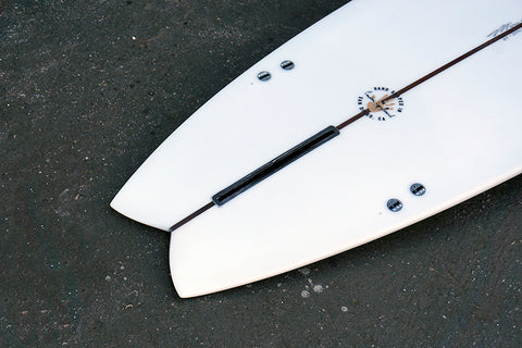 "8'2"" Easy Rider Fish Longboard (Poly)"
