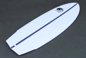 "5'8"" Bullet Surfboard with Carbon (NexGen Epoxy)"