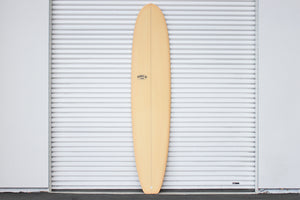 "9'8"" Classic Longboard Surfboard Coral Resin Tint (Poly)"
