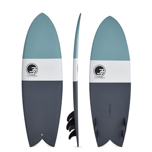 6' Codfather Fish Surfboard Blue Dip (Epoxy)
