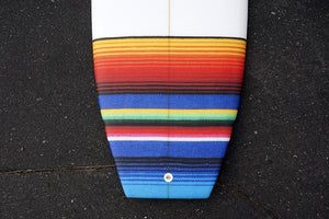 5'7 Cloud Shortboard Surfboard Mexican Blanket Tail Patch (Poly)
