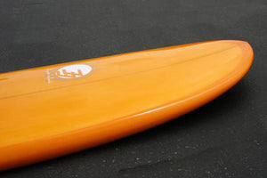 5'4 Cloud Shortboard Surfboard Orange Tint Dip Gloss & Polish (Poly)