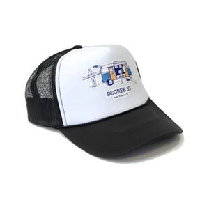 Degree 33 Bus Logo Logo Foamie Hat