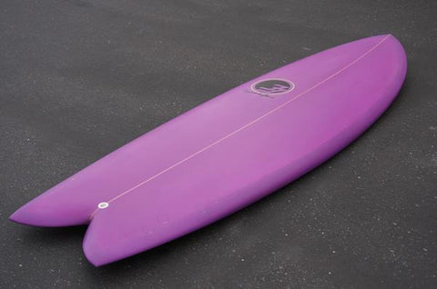 "5'8"" Codfather Fish Surfboard Acai Spray Tint (Poly)"