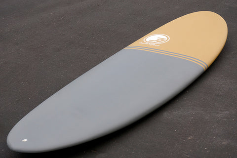 "6'6"" Poacher Funboard Surfboard Black Sand (Epoxy)"