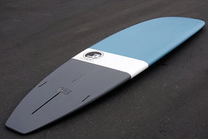 8' Ultimate Longboard Surfboard Blue Dip (Epoxy)